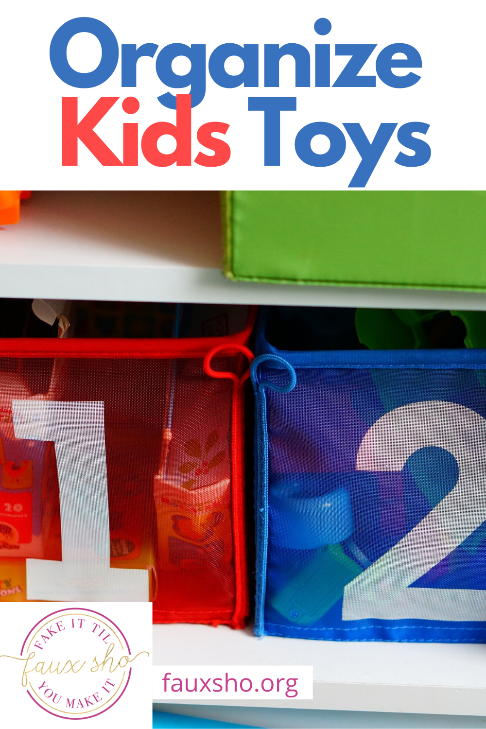 Avoid the annoying clutter of your kids toys with these awesome and easy ideas. Organize kids toys and enjoy a clean house. The kids will even like to put their toys away. What could be better? Keep reading to learn more. #kidstoys #organizekidstoys