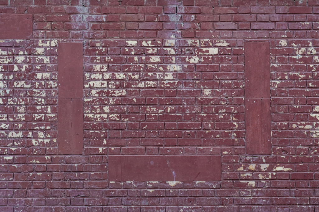 An easy way to make a faux brick wall