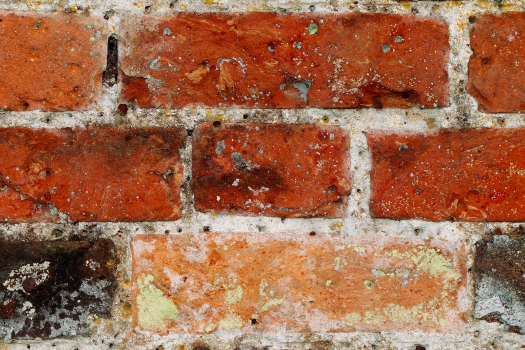 Cheaper means to make a faux brick wall