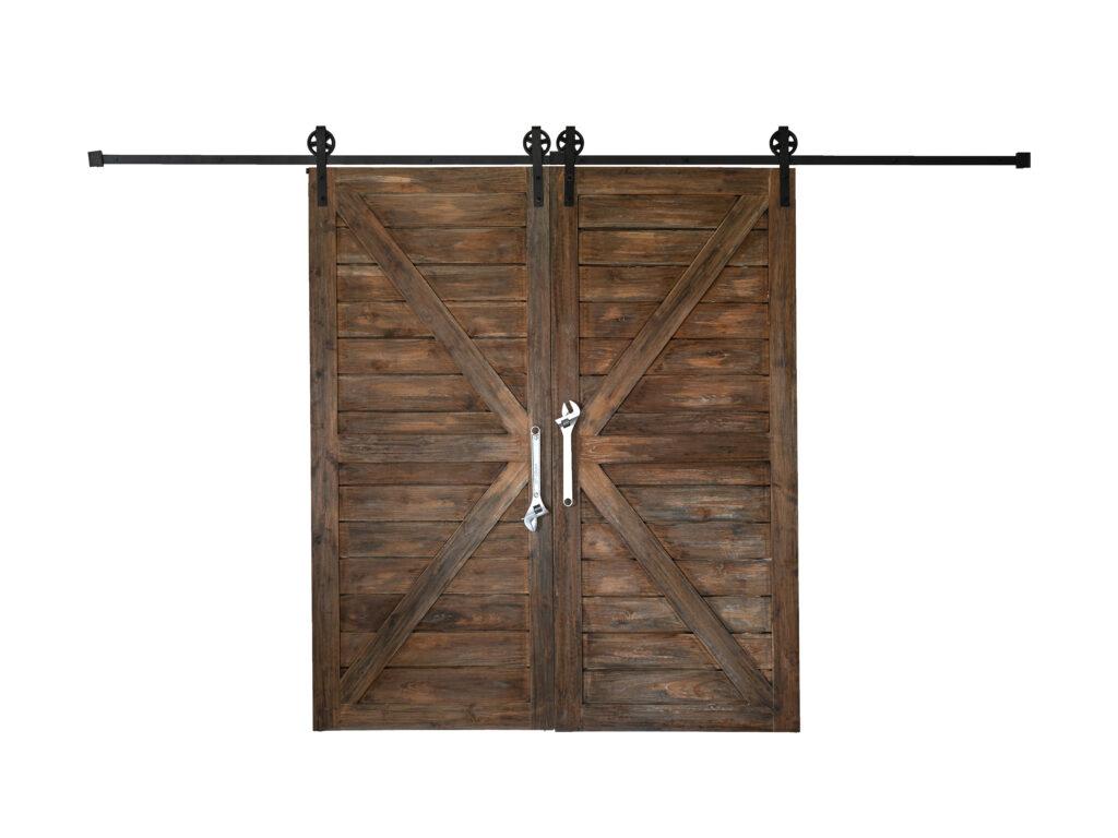Building bypass barn door from scratch