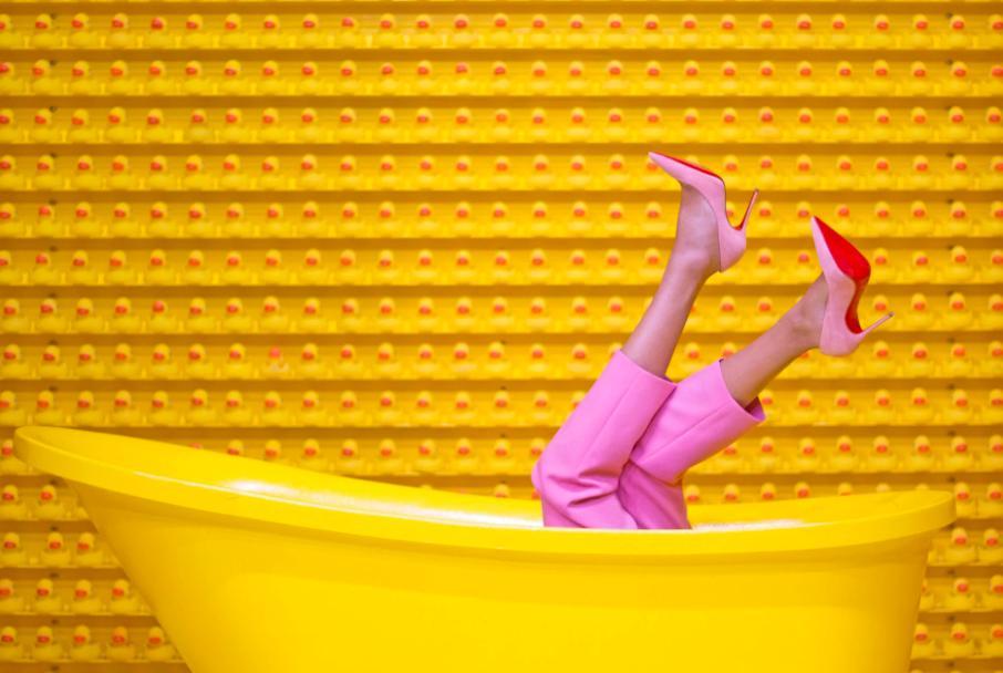 Get a new bathtub - make a bathtub deeper