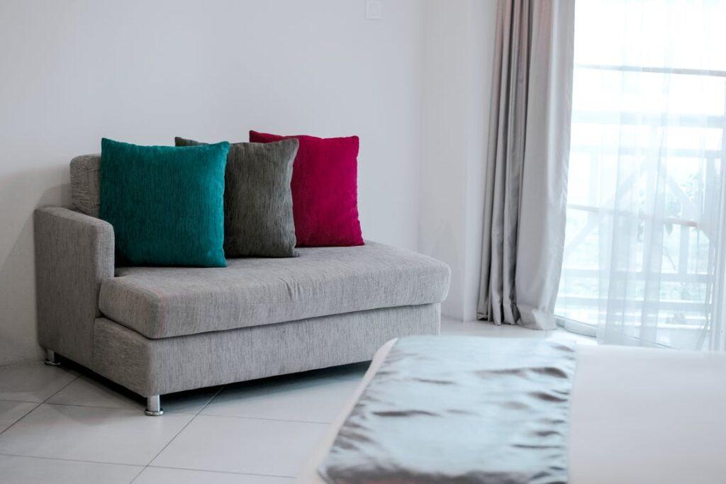 Couch cushion foam pillows